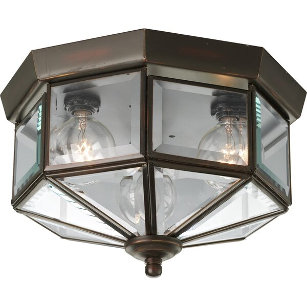 Outdoor flush mount lights youll love wayfair aloadofball Image collections