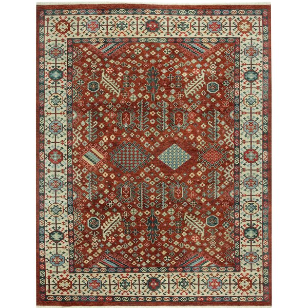 Biltmore Heritage Shiraz Hand Knotted Red Area Rug by Capel Rugs