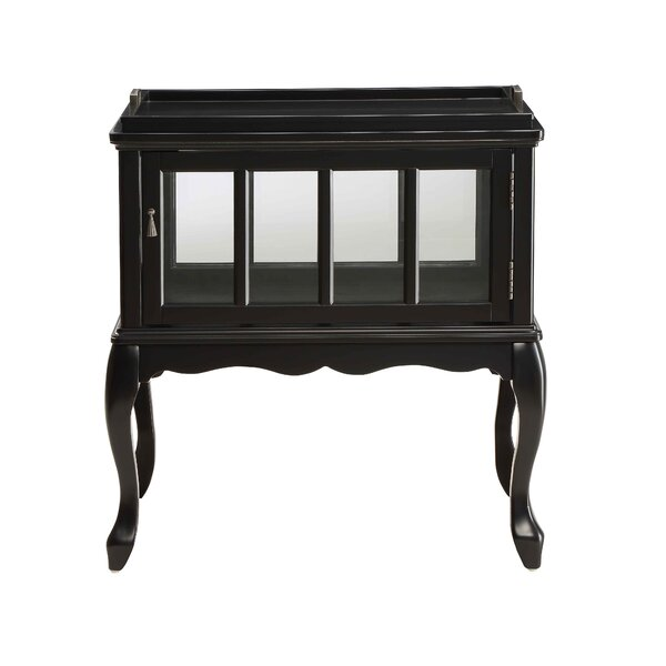 Alcott Hill Black Console Tables