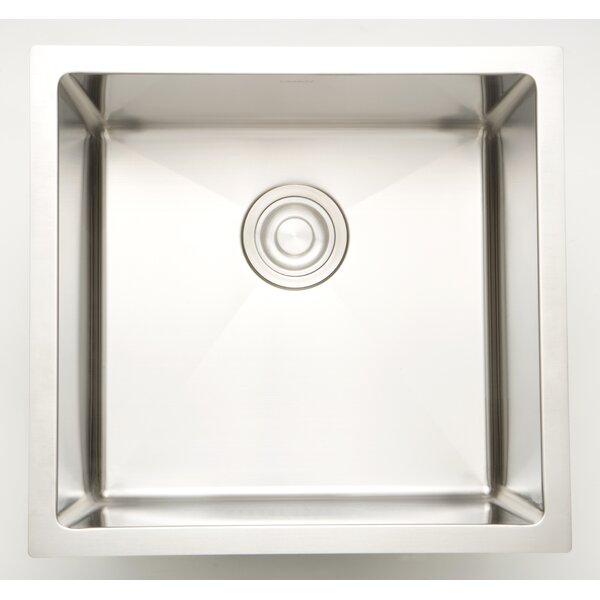 17 X 17 Undermount Kitchen Sink with 18 Gauge