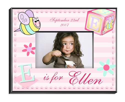 Personalized Gift Girly Bee Picture Frame by JDS Personalized Gifts