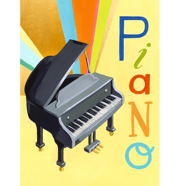 Cuthbertson Musical Melodies Piano by Jessica Allen by Harriet Bee