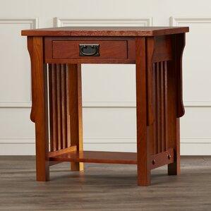 Jacobus 1 Drawer Nightstand by Charlton Home