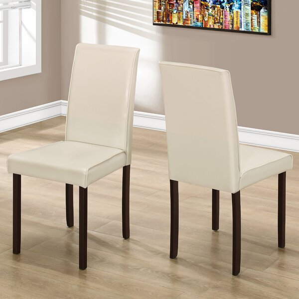 Side Upholstered Dining Chair (Set of 2) by Monarch Specialties Inc.