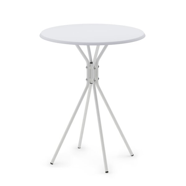 Auten Round End Table By Ebern Designs
