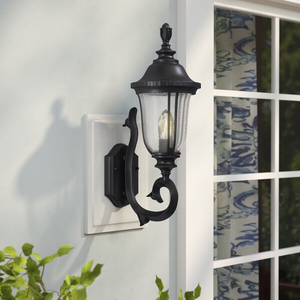 Bowe 1-Light Outdoor Sconce by Three Posts