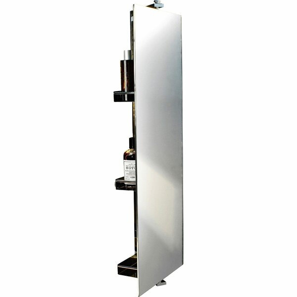 Majors 360 Degree Rotating 11.8 W x 31.5 H Wall Mounted Cabinet by Latitude Run