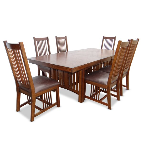 Kendra 7 Piece Extendable Dining Set by Loon Peak