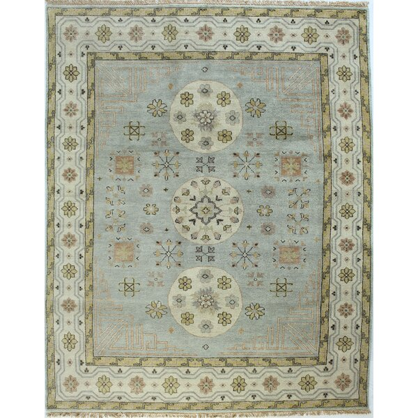Delmonte Light Blue Area Rug by Darby Home Co