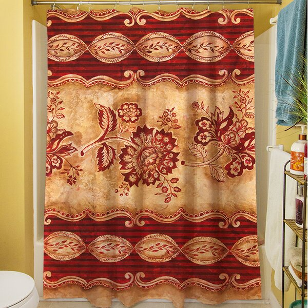 Alana Shower Curtain by Fleur De Lis Living