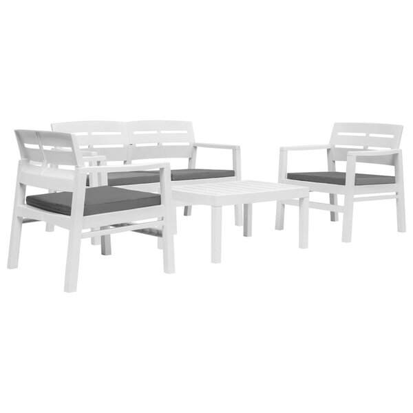 Cranford 4 Piece Multiple Chairs Seating Group by Highland Dunes