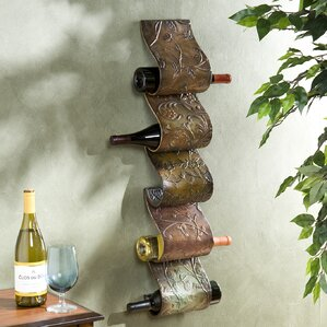 Barbury 5 Bottle Wall Mounted Wine Rack by Astoria Grand