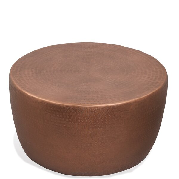 Check Price Ayman Drum Coffee Table