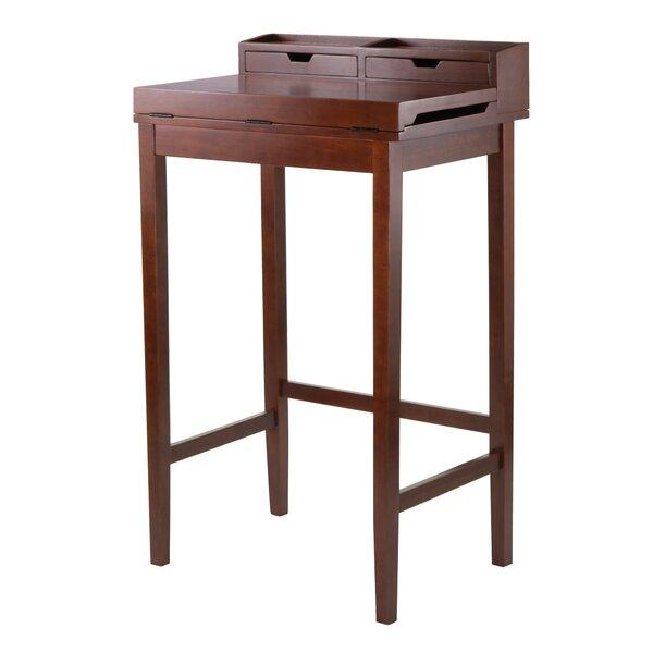 Brighton Secretary Desk with Hutch by Winsome