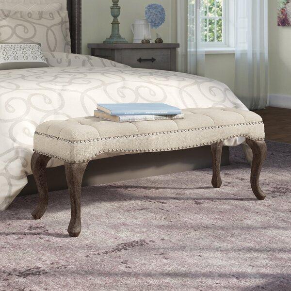 Elya Upholstered Bench by Lark Manor