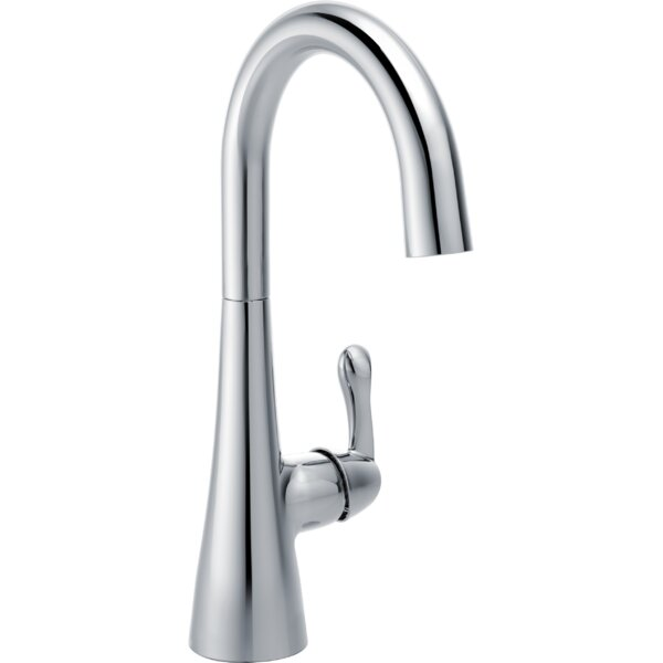 Transitional Single Handle Bar Faucet with Swivel Spout by Delta