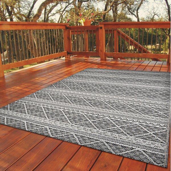 Vidaurri Gray Indoor/Outdoor Rug