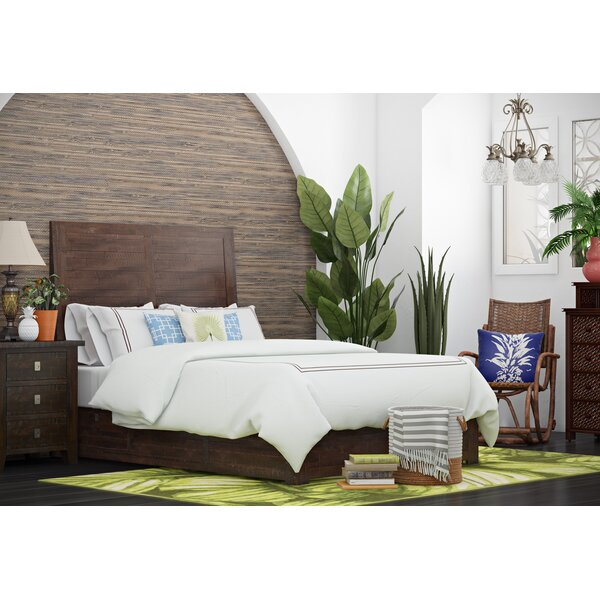 Oxalis Storage Platform Bed by Bay Isle Home