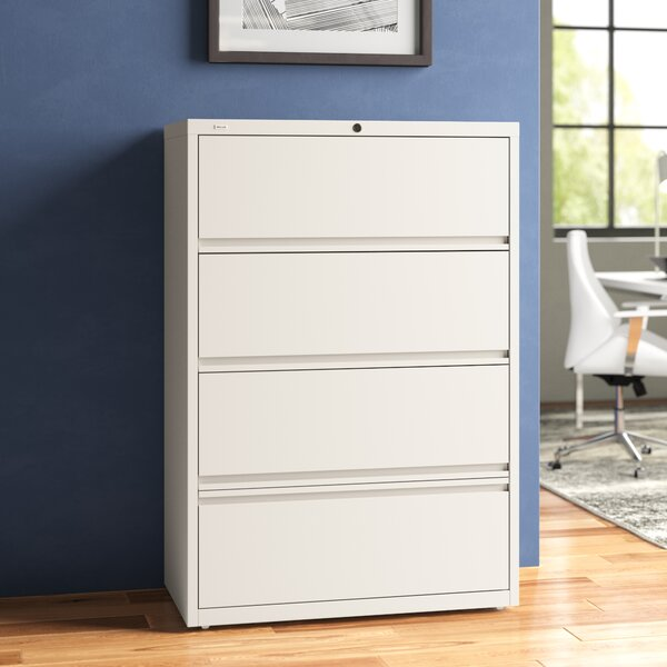 Finnigan 4-Drawer Lateral Filing Cabinet