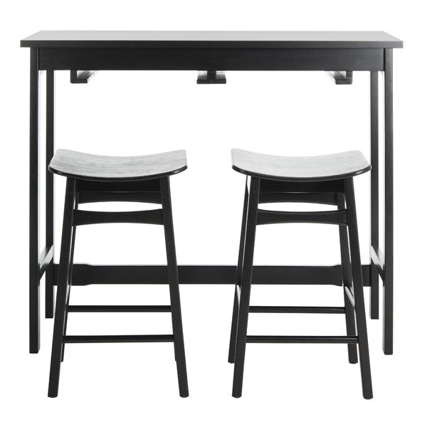 Chaska 3 Piece Pub Table Set by Ebern Designs