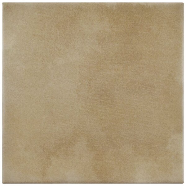 Haute 5.88 x 5.88 Ceramic Field Tile in Sandy Beige by EliteTile