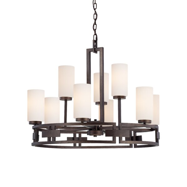 Deasia 9 - Light Candle Style Chandelier By Millwood Pines