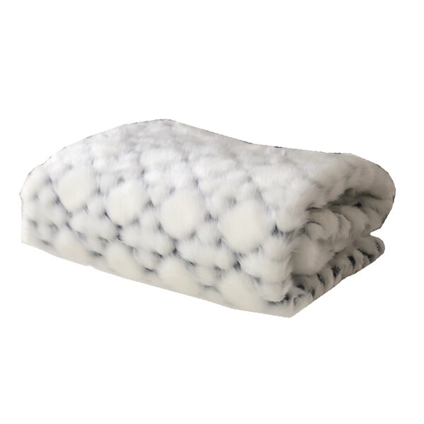 Putnam Luxury Faux Fur Throw by Everly Quinn