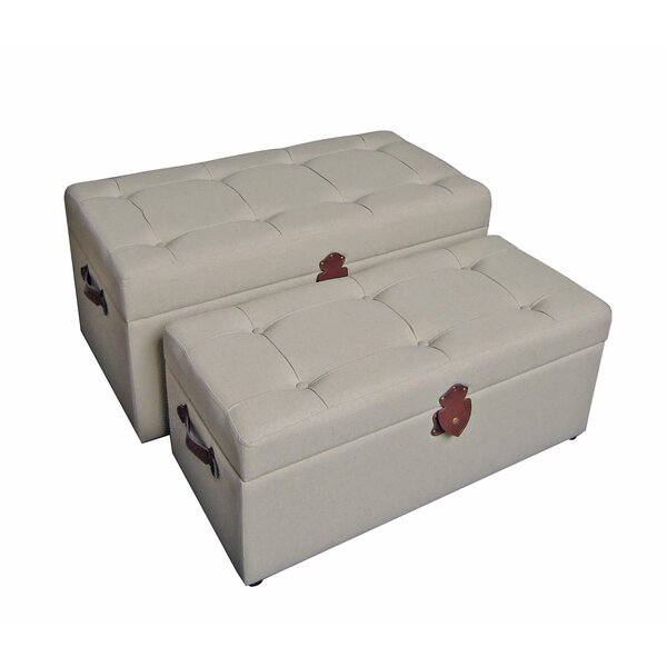 Dorene Upholstered Storage Benches by Darby Home Co