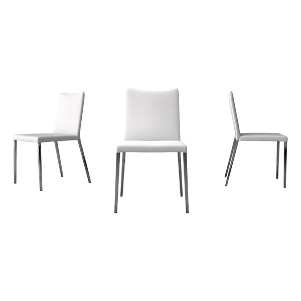 Lau Upholstered Dining Chair (Set Of 2) By Orren Ellis