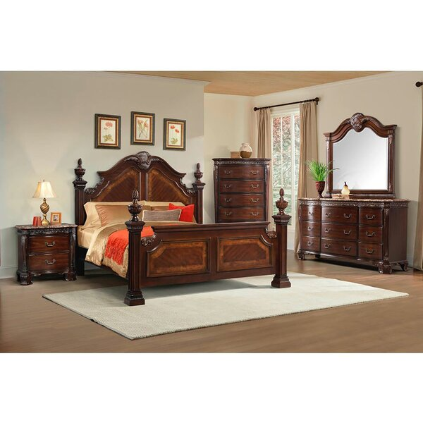 Bronwen Four Poster Configurable Bedroom Set by Astoria Grand