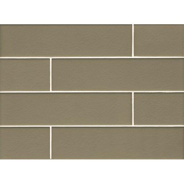 Remy Glass Field Matte Tile in Verdant by Grayson Martin