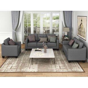 Wilen 3 Piece Standard Living Room Set by Red Barrel Studio®