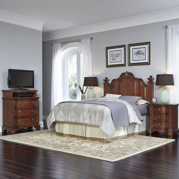 Whitfield Platform 4 Piece Bedroom Set by Astoria Grand