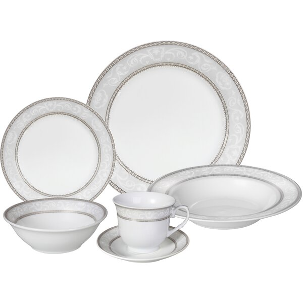 Sirena 24 Piece Dinnerware Set, Service for 4 by Lorren Home Trends