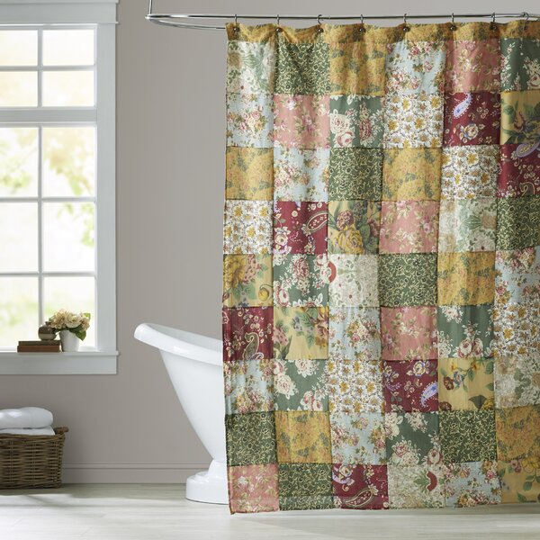 St. John Cotton Shower Curtain by August Grove