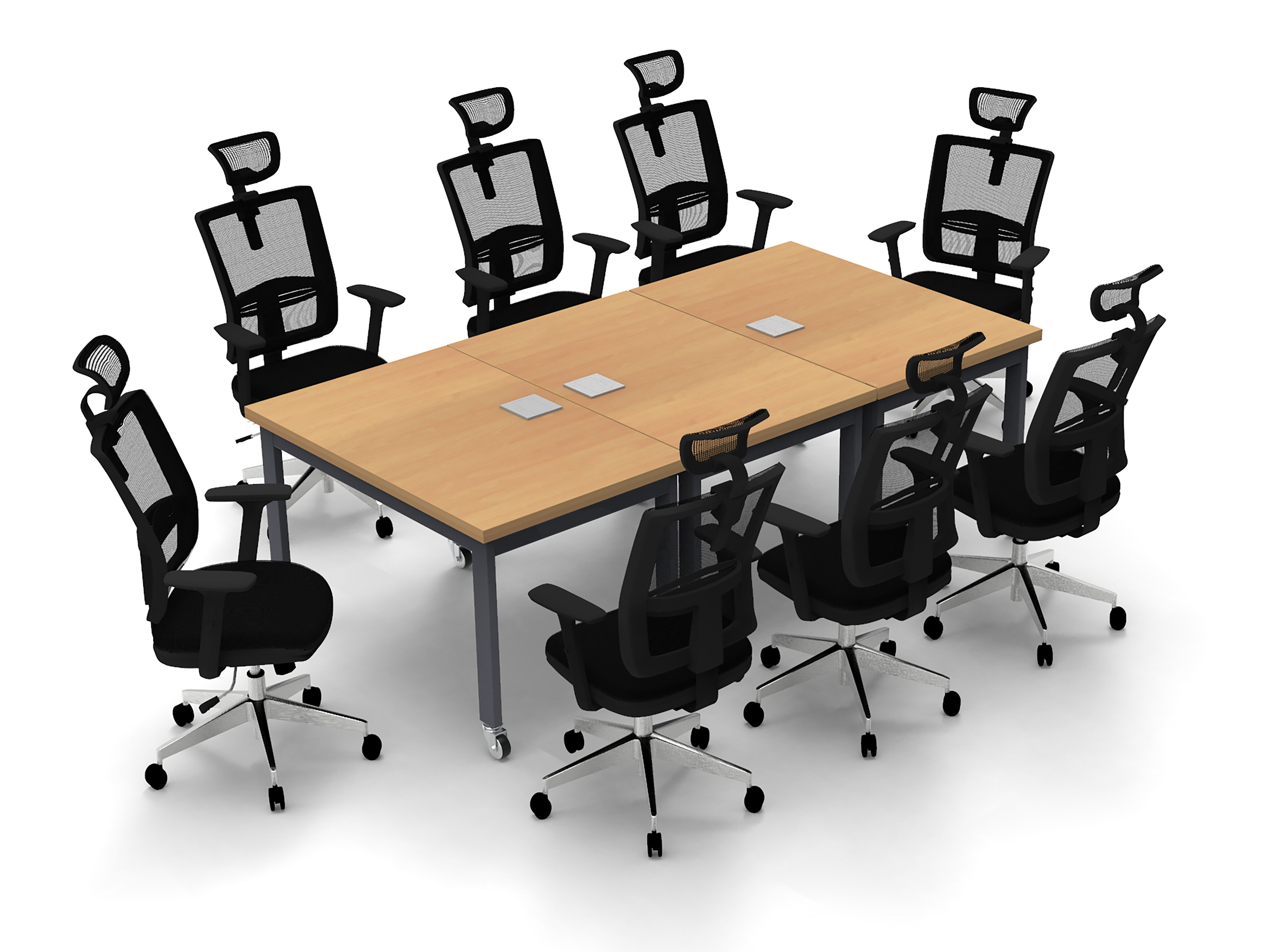 Conference Meeting Rectangular Conference Table Set