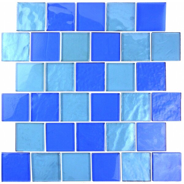 Landscape 2 x 2 Glass Mosaic Tile in Horizon by Abolos