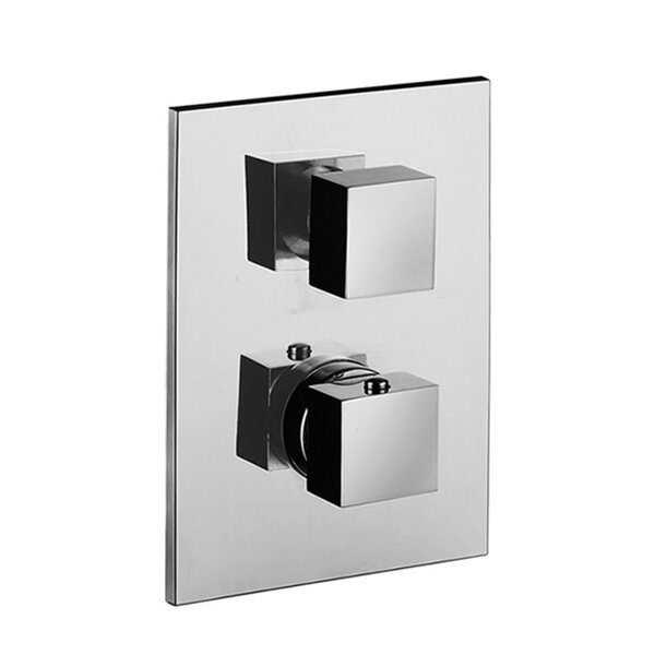 Level Concealed Thermostatic Shower Faucet Trim