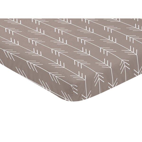 Outdoor Adventure Arrow Print Fitted Mini Crib Sheet by Sweet Jojo Designs