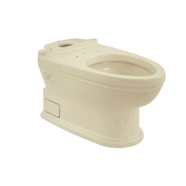 Carrollton 1.6 GPF Elongated Toilet Bowl by Toto