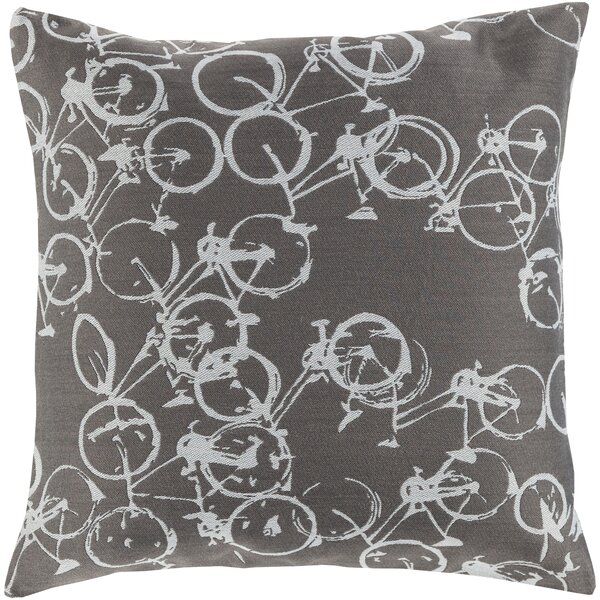 Camptown Throw Pillow Cover by Latitude Run
