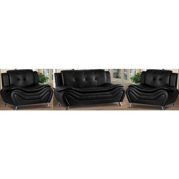 Gilliard 3 Piece Living Room Set