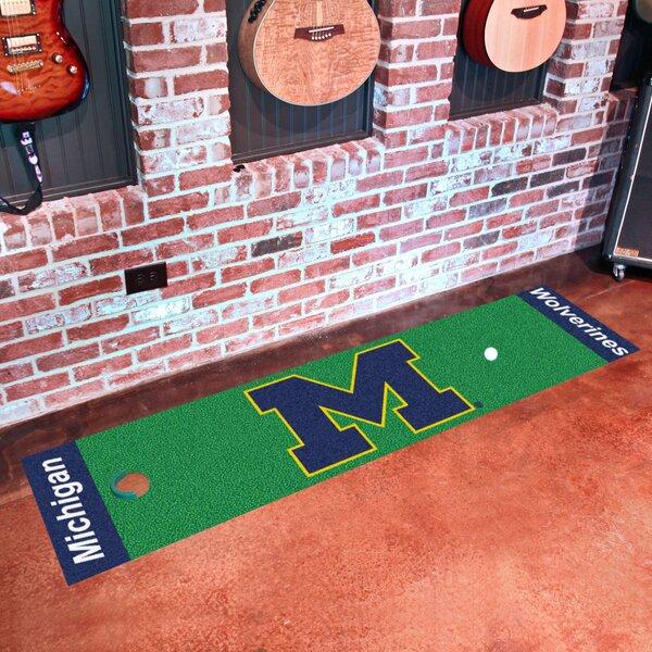 NCAA University of Michigan Putting Green Doormat by FANMATS