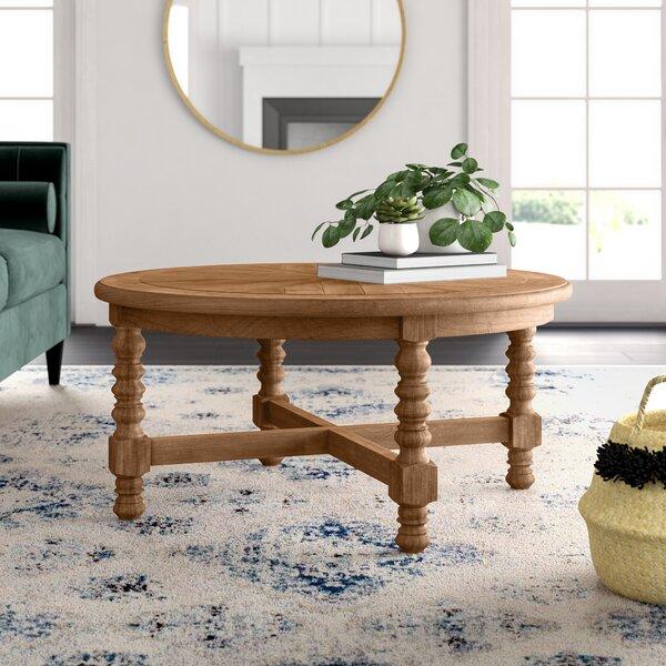 Haylie Wooden Coffee Table by Mistana Mistana