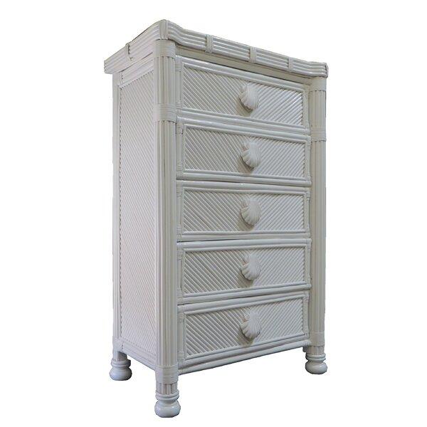 Damm Highboy 5 Drawer Standard Dresser by Highland Dunes