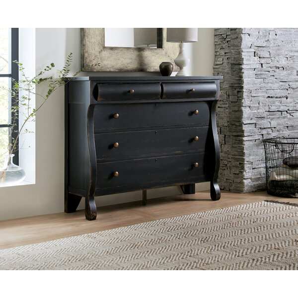 CiaoBella 5 Drawer Double Dresser by Hooker Furniture
