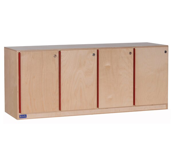 1 Tier 4 Wide Kids Locker by Angeles