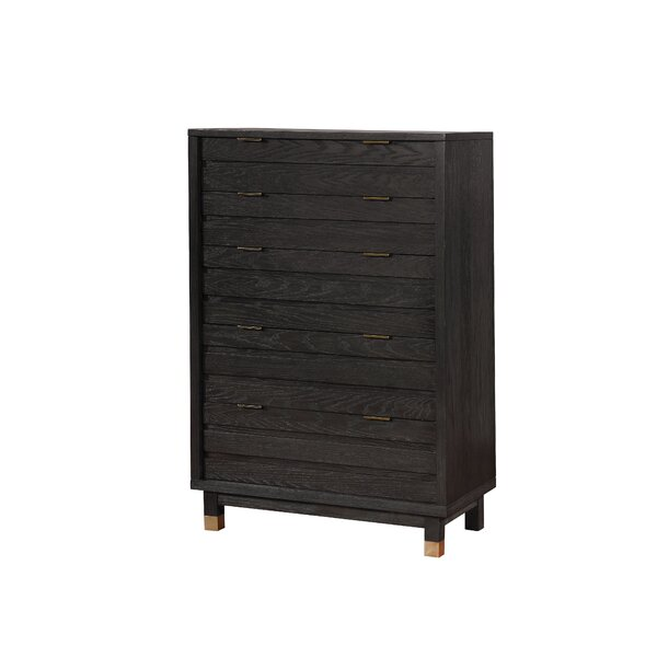 Randeep Contemporary 5 Drawer Chest by Brayden Studio