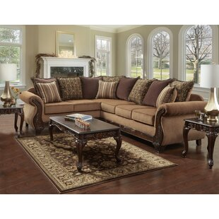 Berlin Sectional Fleur De Lis Living