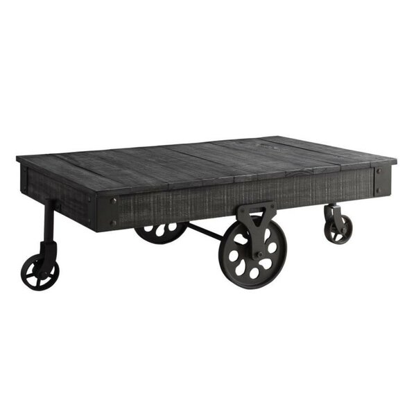 Allard Country Solid Wooden Coffee Table by Williston Forge